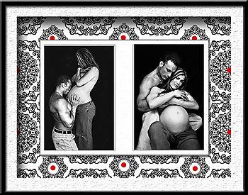 11x14 Collage 2 photo 4x6