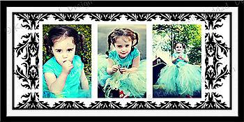 10x20 collage 3 photo 4x6
