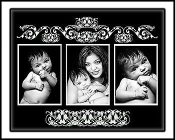 16x20 collage -1-3 photo 4x6