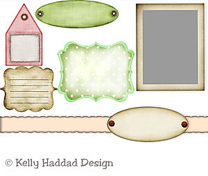 Holiday paper pack set one -08-2