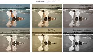 DOWN Memory lane Actions web 1