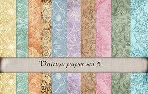 Vintage paper set 5 -01