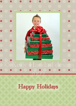 Holiday card set two 2009-02