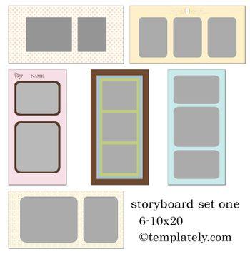 Storybored set one 1web