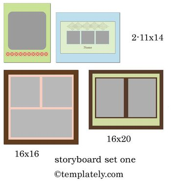 Storybored set one 2web