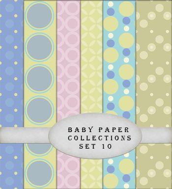 Baby paper set 10-01