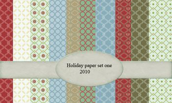 Holiday paper 2010 set one-01